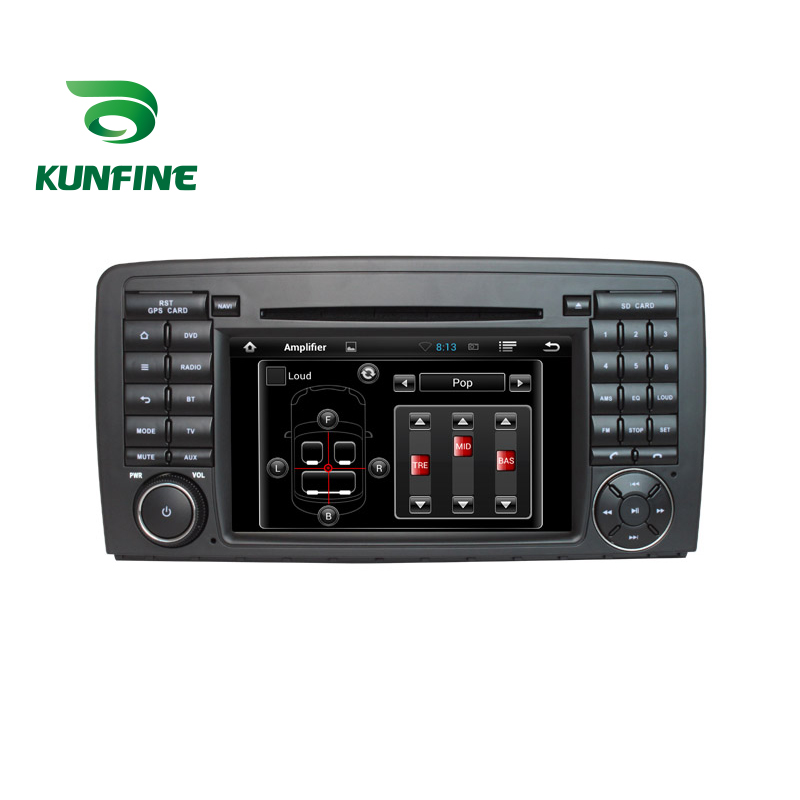 KUNFINE Android 7.1 Quad Core 2GB Car DVD GPS Navigation Player Car Stereo for Benz R W251 2006 onwards Radio Headunit Bluetooth