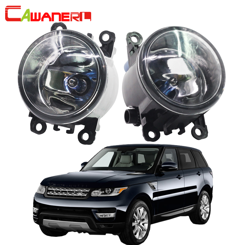 Cawanerl 100W Car Halogen Fog Light Daytime Running Lamp For Land Rover Range Rover Sport LS Closed Off-Road Vehicle 2006-2013