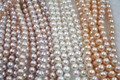 wholesale 4 strands 9mm near potato cultured freshwater pearl lots