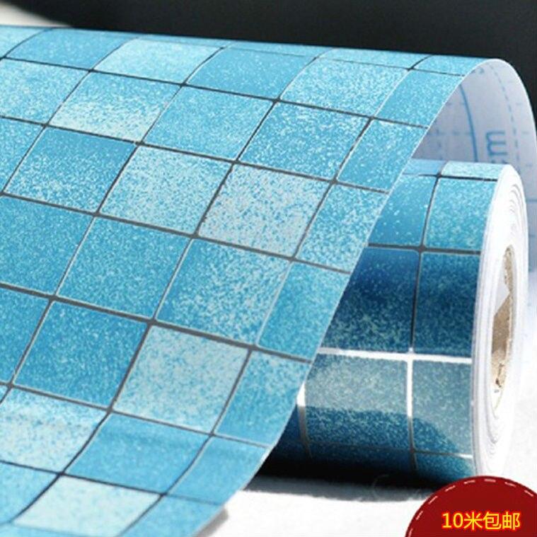 US $14.22 21% OFF|Mosaik wandaufkleber badezimmer wand wasserdicht  aufkleber fliesen wandtattoos selbstklebende tapete küchentapeten für  wohnkultur-in ...
