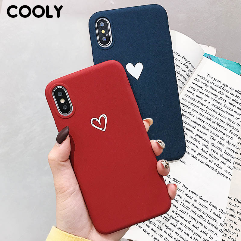COOLY Liebe Herz Fall Für <font><b>Xiaomi</b></font> Redmi K20 4A 4X 5A <font><b>5</b></font> 6A 6 Pro 7 S2 Hinweis 4 4X abdeckung auf Note7 <font><b>Cases</b></font> Ultra Slim TPU Silikon Coque image