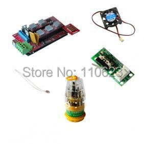 3d printer kits RAMPS 1.4+A4988+Mega R3+SD breakout+mechanical endstop 3d tools cool fan free shipping купить
