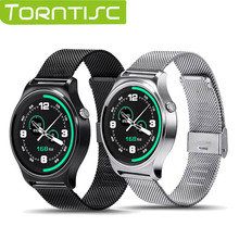 Torntisc MTK2502 Smart Watch GW01 Soutien Détecteur de Rythme Cardiaque Siri UV Surveillance de La Température Corporelle Pour téléphone Android et iPhone