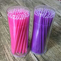 LilacLine useful 200 PCS Micro Tip Brush Applicators Eyelash Lash Extensions Cleaning & Removal Original!