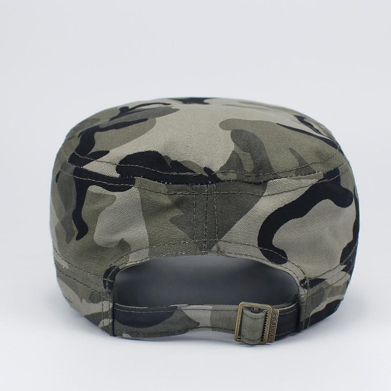 Men Women Fashion Hat Military camouflage Special Forces Mask the USSR Cadet Hat Cap Gorras Militares Boina Sailor Bone Gorro