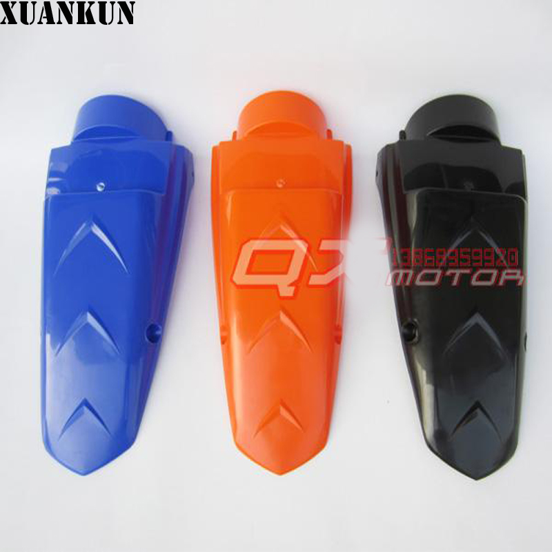 XUANKUN  XR250 KLX250 DT200 Off-Road Motorcycles Modified After The Tail Plate After The Mud xuankun vintage motorcycle modified coffee saddle cover seat cushion cover hump tail shell tail hood