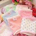 6 unids/lote Dot print adolescente bragas Ropa Interior de algodón Lindo de Los Niños niños niñas ropa interior ropa interior