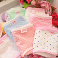6pcs/Lot Dot print teenage girl panties cotton Underwear Kids Cute children underwear girls underwear