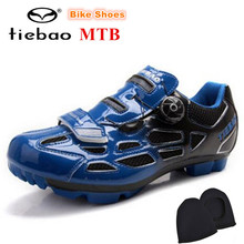 TIEBAO Bicycle Cycling Mountain Bike zapatillas deportivas mujer Athletic Shoes sapatilha ciclismo MTB Bike Self-locking Shoes