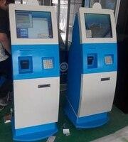 Monitör kasa/shell/konsollar/Tutucu için Dokunmatik ekran self servis kiosk terminali