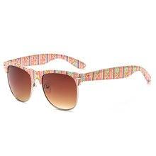 2018 New Fashion Sunglasses Women Ladies Vintage Sun Glasses Retro Shades Color Frame Brand Design Gafas de sol UV400 Protection