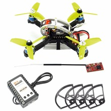 купить LDARC FPVEGG PRO PNP Kit 130mm Mini FPV Indoor Racer with Flysky/Frsky Receiver Prop Protector Charger DIY Brushless Quadcopter дешево