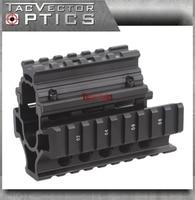 Vector Optics Tactique Mini Draco AK Pistolet RIS Handguard Quad Picatinny Rail Mount Court Livraison Couverture Gardes Gun Accessoires