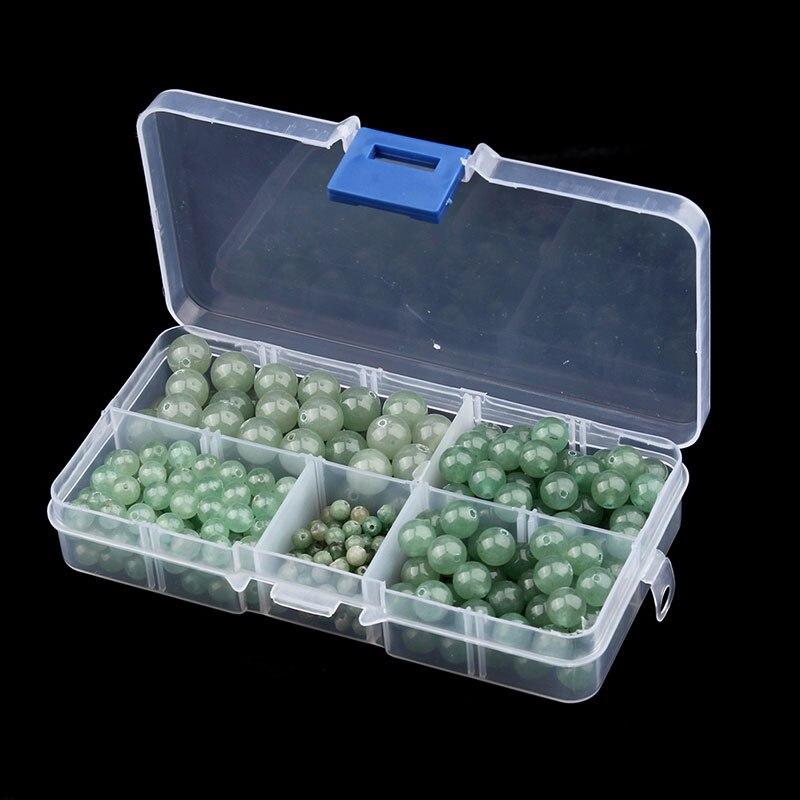 лучшая цена 340pcs/box 4/6/8/10mm Round Green Aventurine Beads Natural Gem Stone Jewelry Making for DIY Beaded Necklace and Bracelet F2978