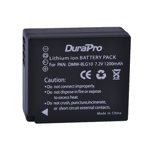 Image 2 - 2pc 1200mAH DMW BLG10 BLG10 BLG10E BP DC15 Camera Battery + LCD  Charger for Panasonic LUMIX GF5 GF6 GX7 LX100 GX80 GX85