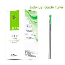 100 adet Taihe çin akupunktur iğneleri steril bireysel kılavuz tüp akupunktur tedavisi