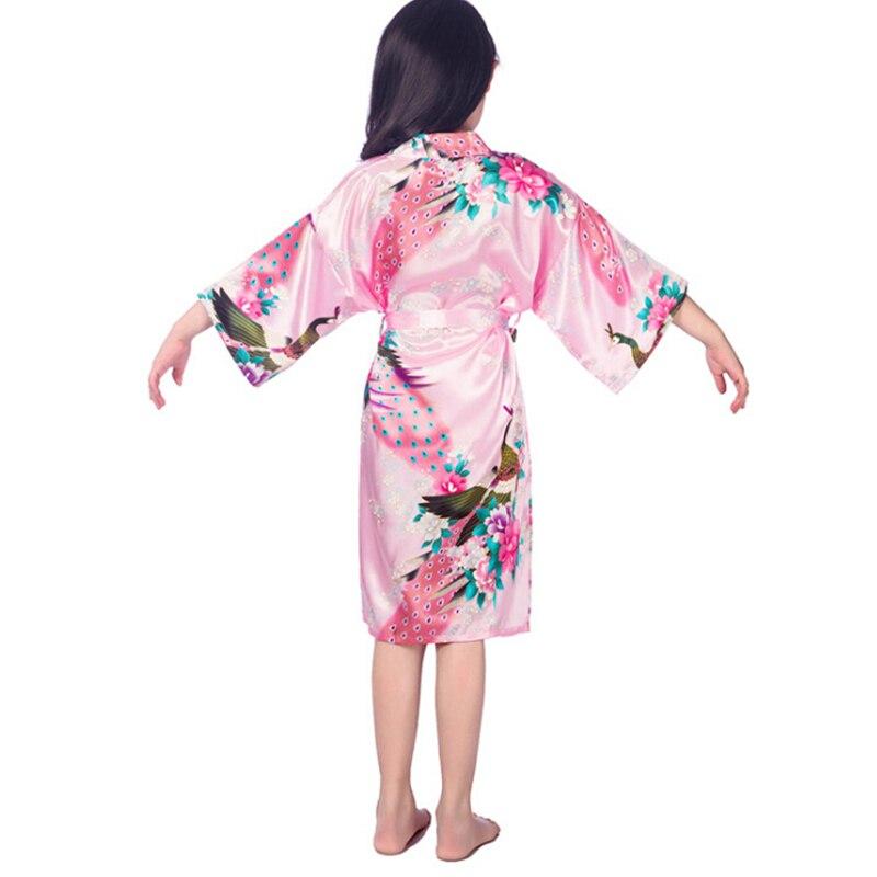 2-14Y გოგონები kimono აყენებს - ბავშვთა ტანსაცმელი - ფოტო 3