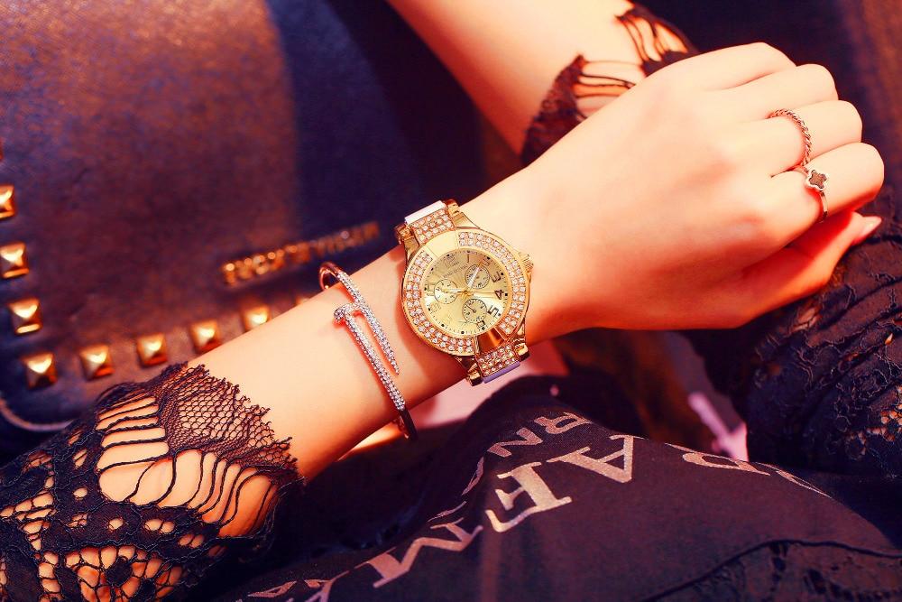 HANNAH MARTIN Μάρκα Πολυτελή Κρύσταλλα - Γυναικεία ρολόγια - Φωτογραφία 5