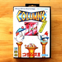 Columns III 16 Bit MD Game Card with Retail Box for Sega MegaDrive & Genesis Video Game console system