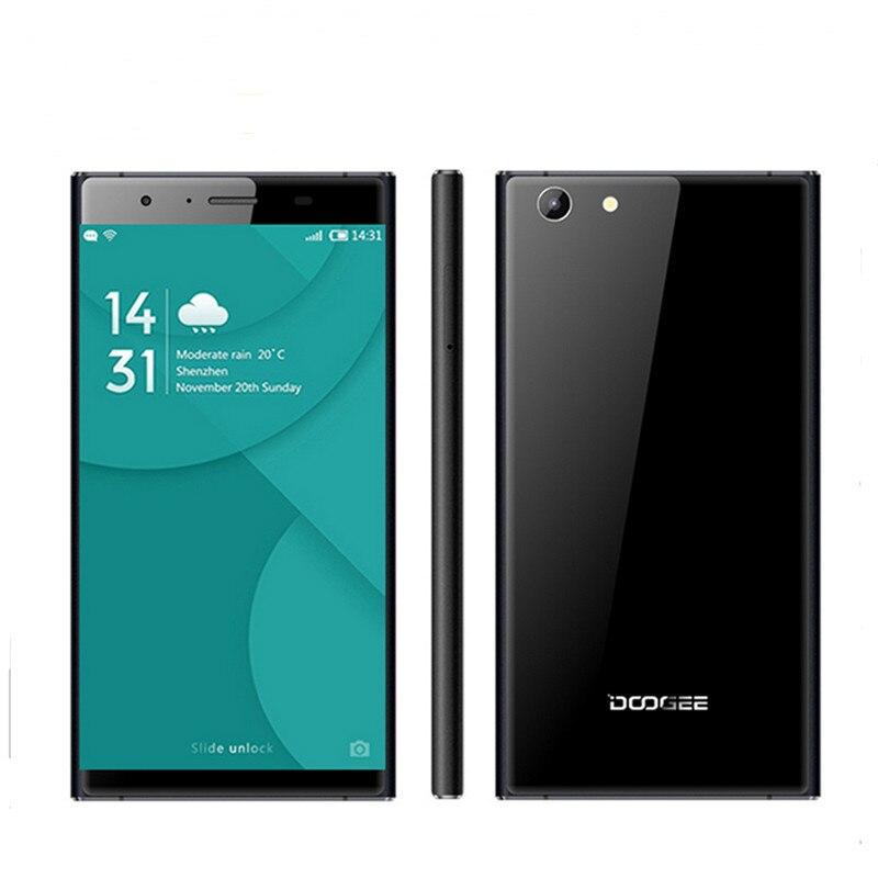 Original Doogee Y300 font b Smartphone b font Android 6 0 Quad Core 5 0 Screen