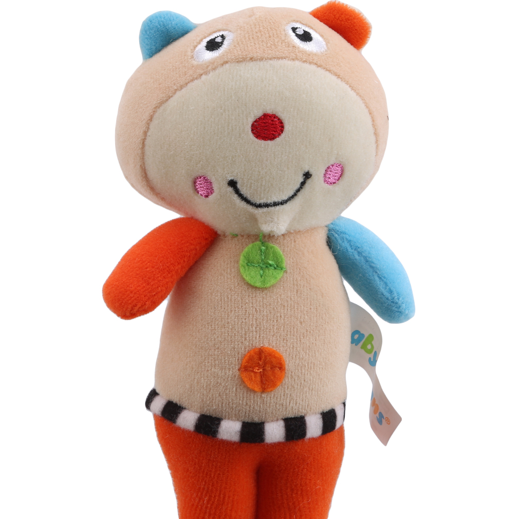 Baby Toy Kids Rattle Toys Animal Plush Hand Bell Mobile Baby Stroller Crib Comfort Toy Children Gift Baby Toys 0-12 Months