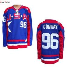 Jazz Vaiten arried Movie ICE Hockey jersey Black Friday Mighty Ducks 21  Dean Portman 6d21c89cb