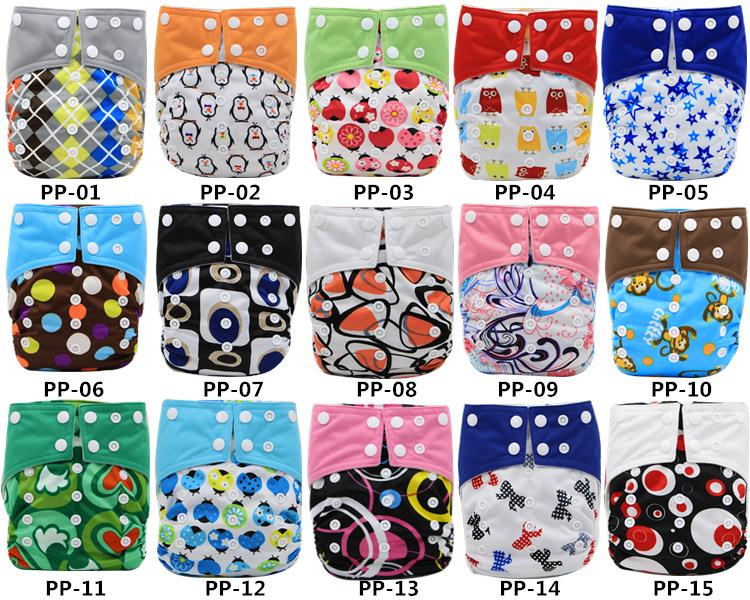 Baby Diaper Cover Heavy Wetter Night Diaper Pocket Baby Cloth Diaper Nappy