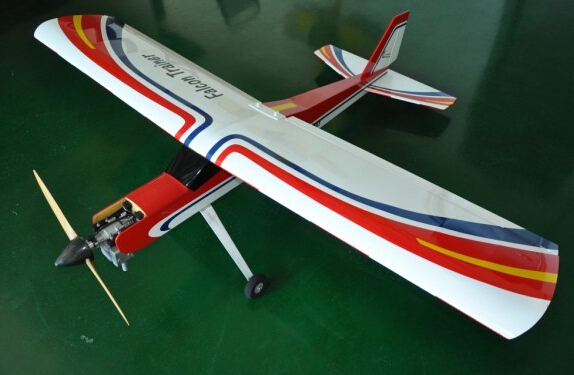 73.2in 20cc Gasoline Falcon Trainer RC Airplane ARF techone sbach 342 hcf depron arf to sbhcf arf
