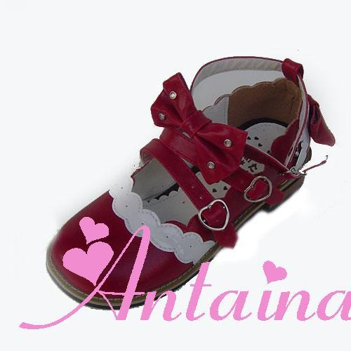 Princess sweet lolita shose Loliloliyoyo antaina lolita rhinestone cute bow shoes 8866