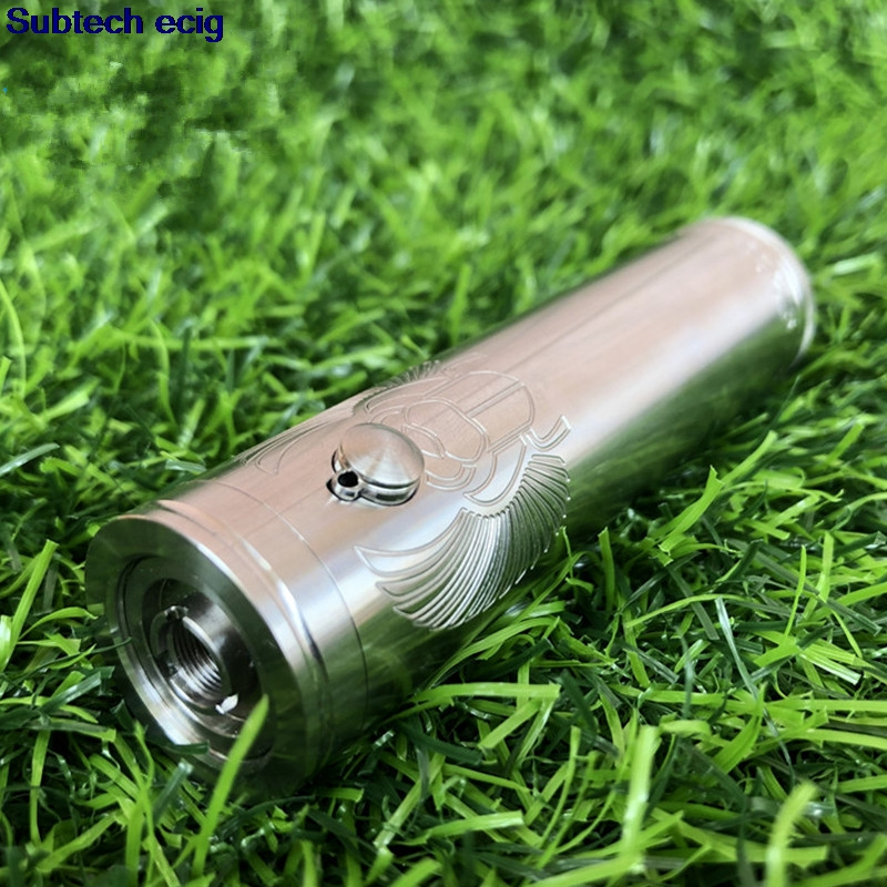 Newest Taifun Skarabaus pro mech mod 316 ss 25mm 21700 battery vape mods for taifun gt kayfun prime kayfun lite Mechanical modNewest Taifun Skarabaus pro mech mod 316 ss 25mm 21700 battery vape mods for taifun gt kayfun prime kayfun lite Mechanical mod