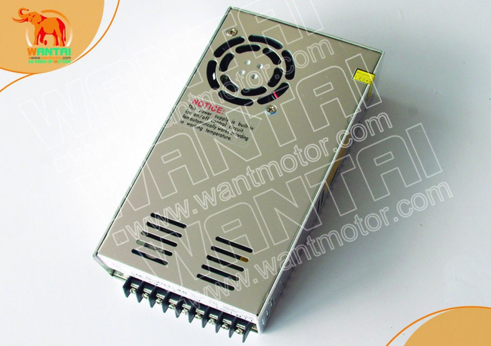 wantai 350,60VDC,5.9A power supply , matching Nema 23, Nema 34 stepper motor/stepping motor cnc kit www.wantmotor.comwantai 350,60VDC,5.9A power supply , matching Nema 23, Nema 34 stepper motor/stepping motor cnc kit www.wantmotor.com