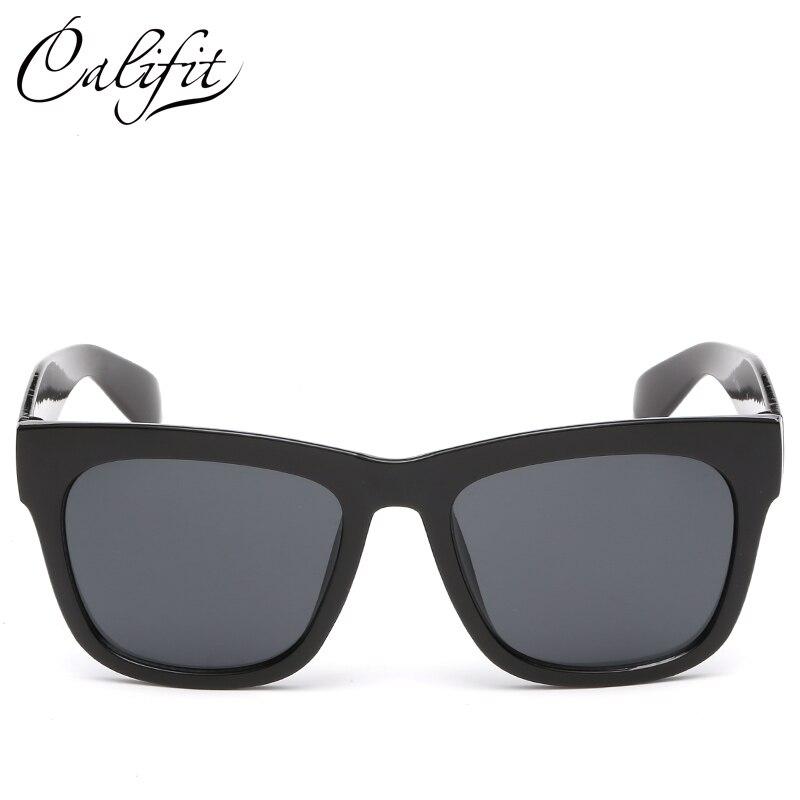 7b3c04d47f CALIFIT 2018 nouvelles lunettes de soleil polarisées hommes UV400 lunettes  mâle classique lunettes rétro lunettes de soleil revêtement nuances lunettes  de ...