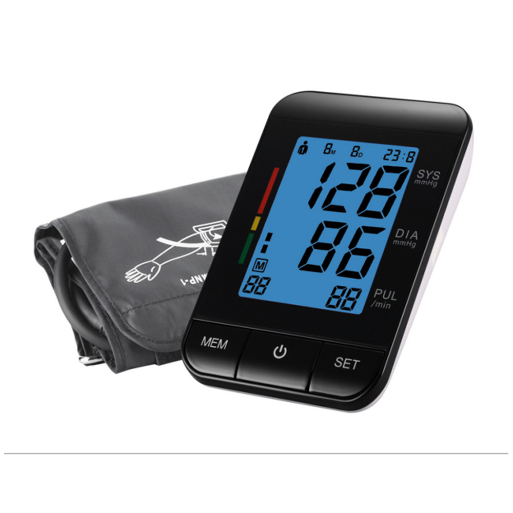 Full Automatic Arm Type  Electronic sphygmomanometer   Electronic Blood Pressure Monitor Health Care high quantity medicine detection type blood and marrow test slides