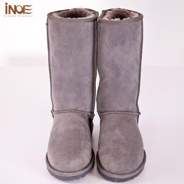 Femme Fille Femme Fille Ankle Boots de Neige en Cuir Boucle x91ewo