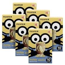 Fujifilm Instax Mini Minion DMF мгновенная 60 пленка для Fuji Mini 7 s 8 8+ 9 25 50 s 70 90 300 SP-1 2 принтера