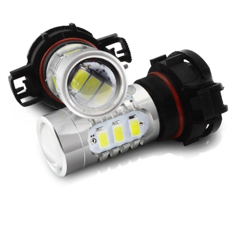 Tcart 1Bulb 2018 5730 чип 5202 h16 см LED автомобиля свет 9-24В 15SMD 5730 Сид 7.5 W автомобилей светодиодные лампы Противотуманные фары [ купить 5 получить 1 бесплатно ]