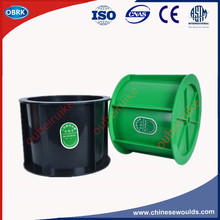 Concrete Permeability Test Molds Greem Plastic 175x185x150mm Concrete Cylinder Test Moulds