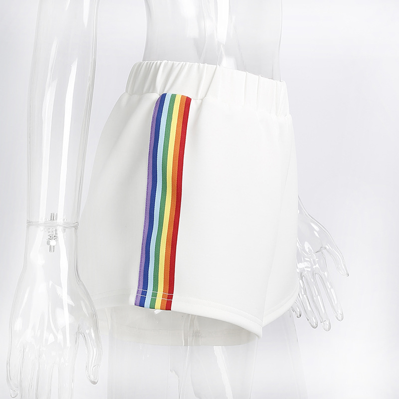 HTB1wlxrSpXXXXcPXVXXq6xXFXXXx - Rainbow Short Women PTC 38