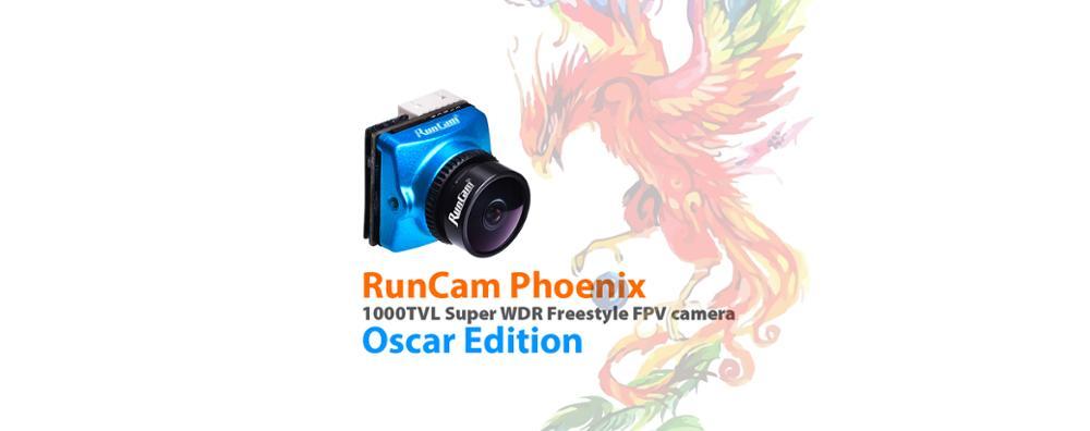 RunCam Phoenix Oscar édition 1000TVL DC 5-36 V 1/3
