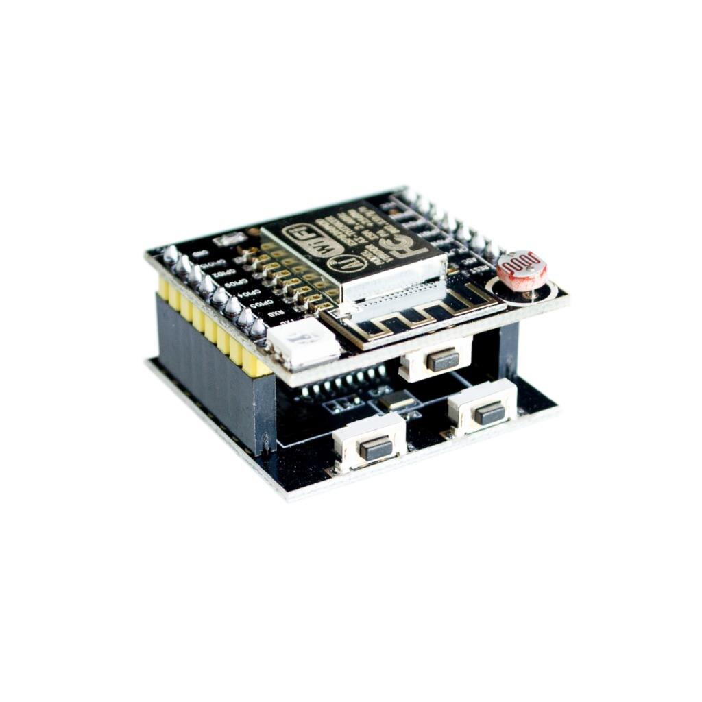 ESP8266 серийный WI-FI Witty cloud макетная плата ESP-12F модуль мини nodemcu