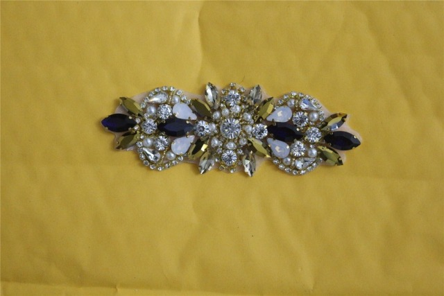 DIY rhinestone trim applique 8afb61aba17a