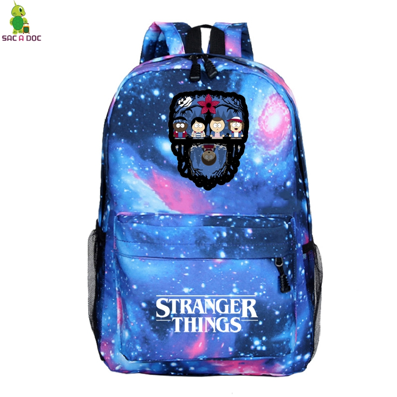 2019 Stranger Things Mochila Escolar Travel Backpack Men Bag Pack Women School Backpacks Bags Teenage Laptop Backpack Sac A Dos