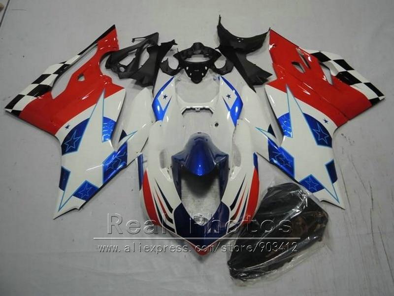Injection unpainted bodywork fairing kit for Ducati 1199 2012 2013 white red blue motorcycle fairings set 1199 12 13 HR62