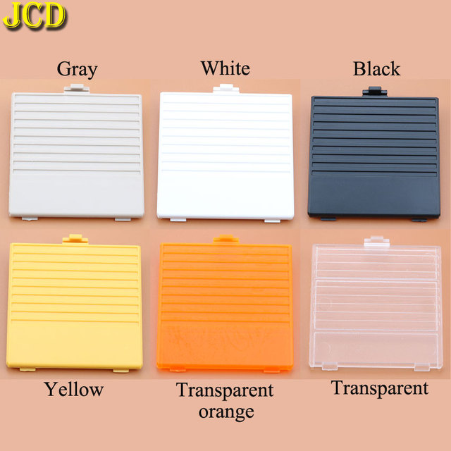 JCD 1pcs For Nintend Game Boy Battery Cover Case Lid Door Replacement for GB console battery Back door cover