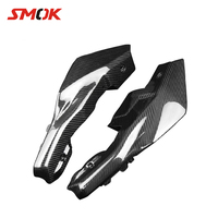 SMOK Motorcycle Carbon Fiber Rear Tail Side Panel Cowling Fairing Cover Protector For Yamaha MT 09 FZ 09 MT09 MT 09 2014 2016