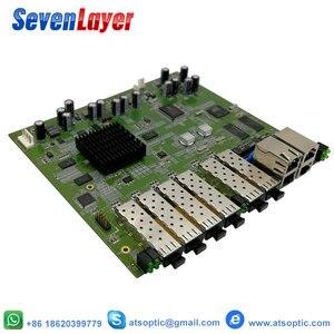 Image 3 - EPON OLT 4PON puertos FTTH CATV OLT portador de fibra óptica de alta densidad de alta calidad 1,25G profesional mini