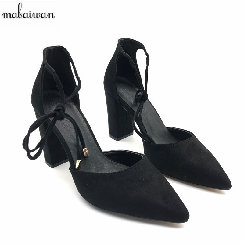 Fashion Black Summer High Heels Prom Dress Shoes Suede Pointed Toe Women Pumps Gladiator Sandals Zapatos Mujer Valentine Shoe handmade fashion ladies high heels suede gladiator sandals rhinestone wedding dress shoe women pumps sandalias mujer shoes woman