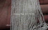 Wholesale Top Real Pearl Rice Bead 100 Natural Pearl Highlight Fashion Pearl 37cm Length Loose Beads
