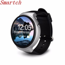 Smartch 2017 I4 Smart watch Android 5.1 1.39 inch AMOLED Display 512MB RAM 8GB ROM support 3G WiFi GPS Clock Phone PK kw88 S99A