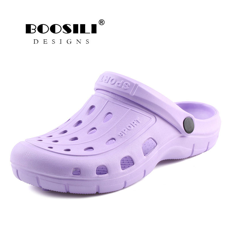 2019 sapatos mulher sandálias real eva sapato feminino venda quente tamancos sapatos de alta qualidade respirável jardim senhora leve